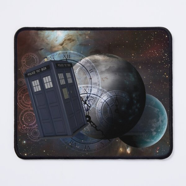 Time Flight 2 Mouse Pad