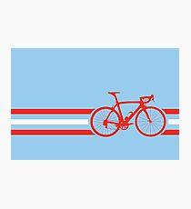 Bike Stripes Austria v2 Photographic Print