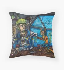 Jak X Throw Pillow