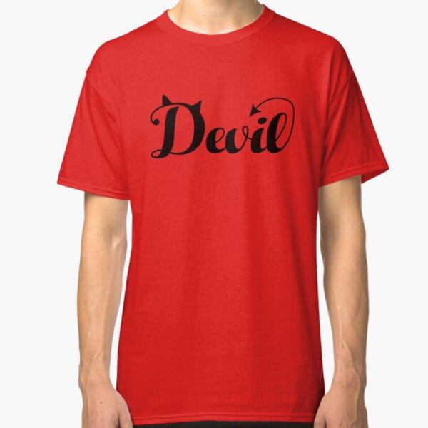 Devil Shirt Classic T-Shirt