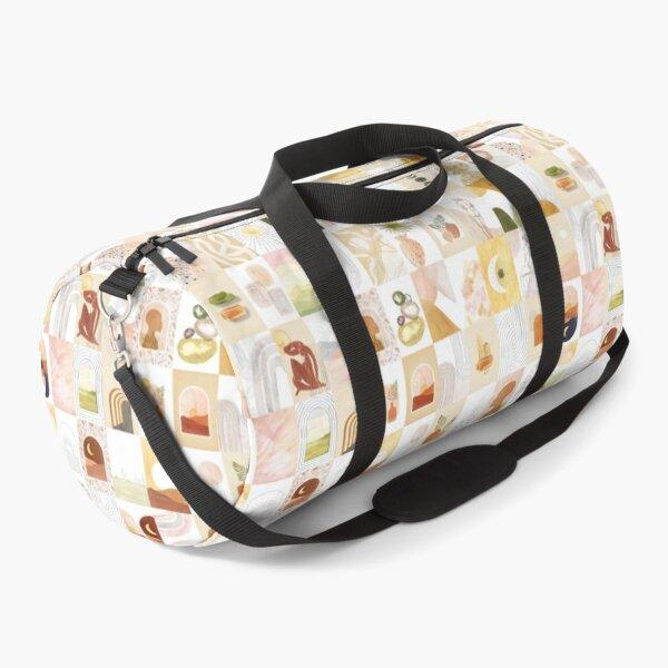 Aesthetic boho collage kit Duffle Bag