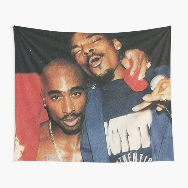 Young Snoop And Pac Tapestry