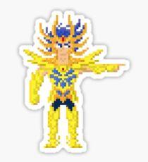 Cancer Deathmask - Saint Seya Pixel Art Sticker