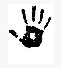 The Elder Scrolls - Dark Brotherhood Symbol (Black) Photographic Print