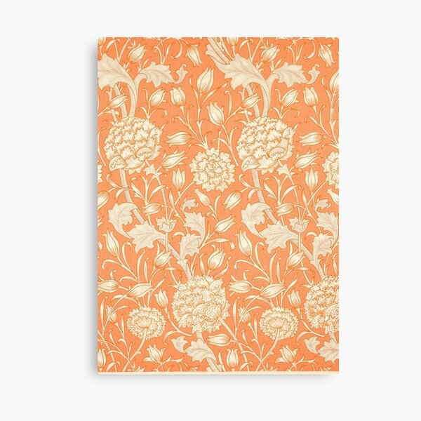 The Wild Tulips - Natural Floral Print Canvas Print