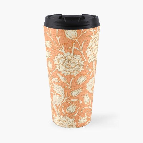 The Wild Tulips - Natural Floral Print Travel Mug