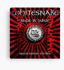WHITESNAKE TOURS 2 Canvas Print