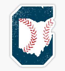 Cleveland Ohio Baseball Sticker