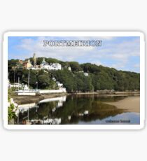 Portmeirion. Sticker