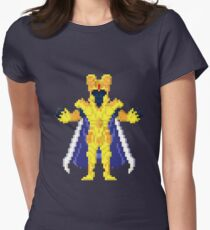 Gemini Kanon - Saint Seya Pixel Art Women's Fitted T-Shirt