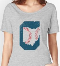 Cleveland Ohio Baseball Women's Relaxed Fit T-Shirt