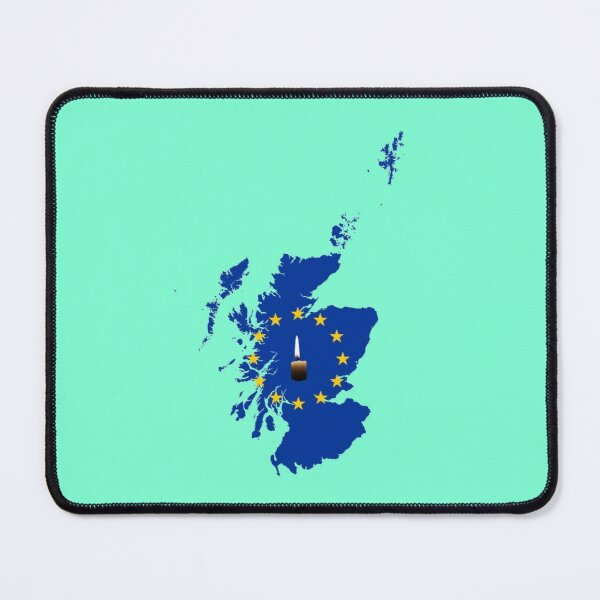 Leave a Light on for Scotland Mouse Pad