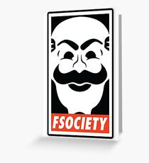 FSociety Greeting Card
