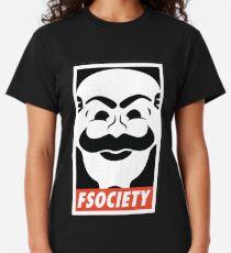 Camiseta clásica FSociety