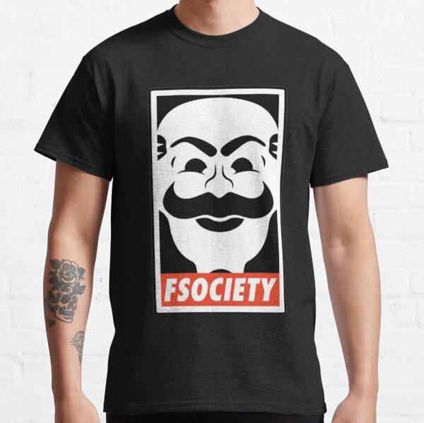 FSociety Camiseta clásica