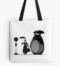 mary and totoro Tote Bag