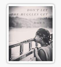 muggles.. Sticker