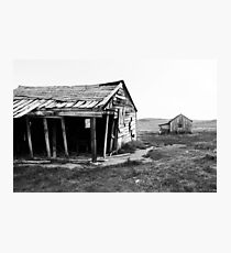 Old Bodie Barn Photographic Print