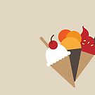 Ice cream Cones by Anaa