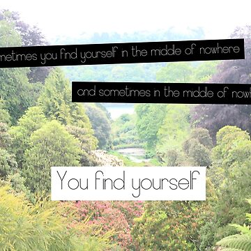 Find Yourself Quote by BubblessandMia