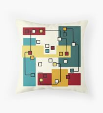 Disconnect Throw Pillow