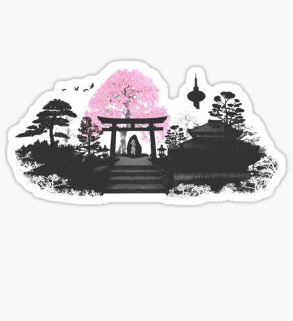 Sakura - Kyoto Japan Sticker