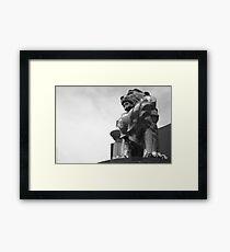 The MGM Lion Framed Print