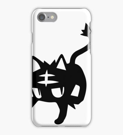 Litten Black iPhone Case/Skin