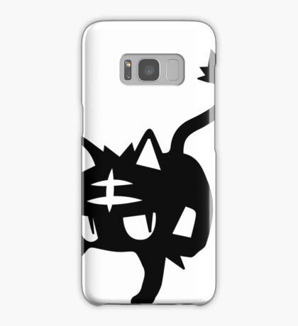 Litten Black Samsung Galaxy Case/Skin