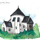 Østerlars Church, Bornholm by Jens Notroff