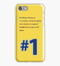 Silicon Valley Pied Piper Jacket Back iPhone Case/Skin