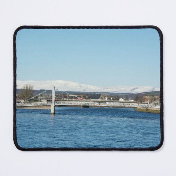 Ben Wyvis with Ness Bridge, Inverness Mouse Pad
