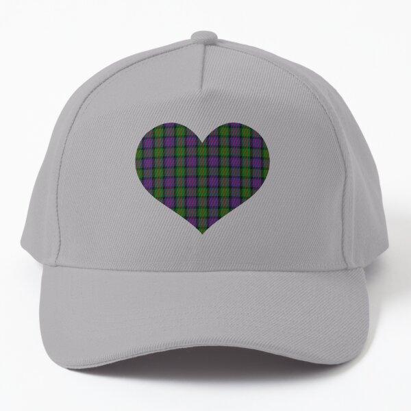 MacDonald Tartan Heart Baseball Cap