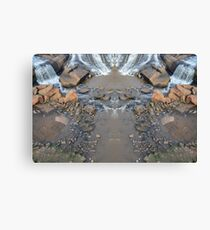 Mirror Falls Canvas Print