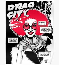 Drag City - Jinkx Monsoon Poster