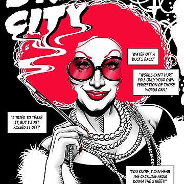 Drag City - Jinkx Monsoon by GillesBone