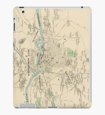 Old Manchester New Hampshire Map Device Cases Redbubble - Manchester new hampshire map