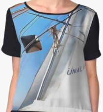 The Realist Adjusts The Sails Women's Chiffon Top