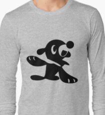 Popplio Black Long Sleeve T-Shirt