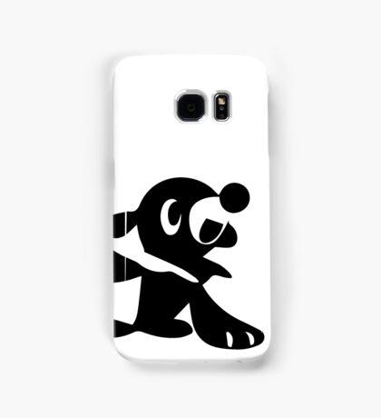 Popplio Black Samsung Galaxy Case/Skin