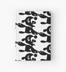 Popplio Black Hardcover Journal
