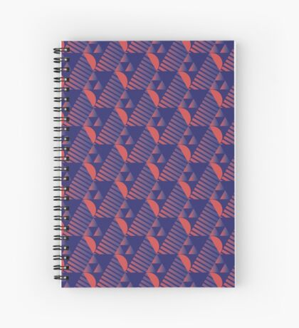 Tesselate Spiral Notebook