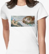 The Creation of Socialism Women's Fitted T-Shirt