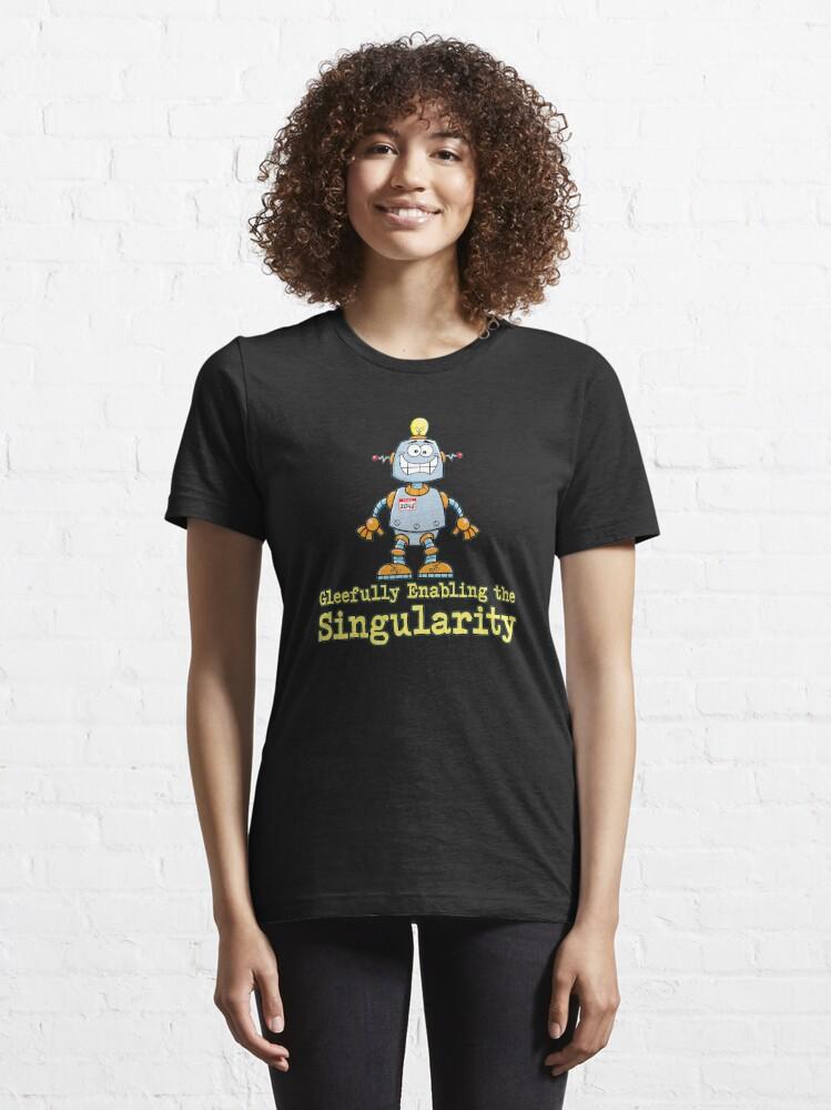 Alternate view of Singularity. Essential T-Shirt