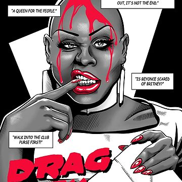 Drag City - Bob The Drag Queen by GillesBone