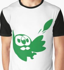Rowlet Green Graphic T-Shirt