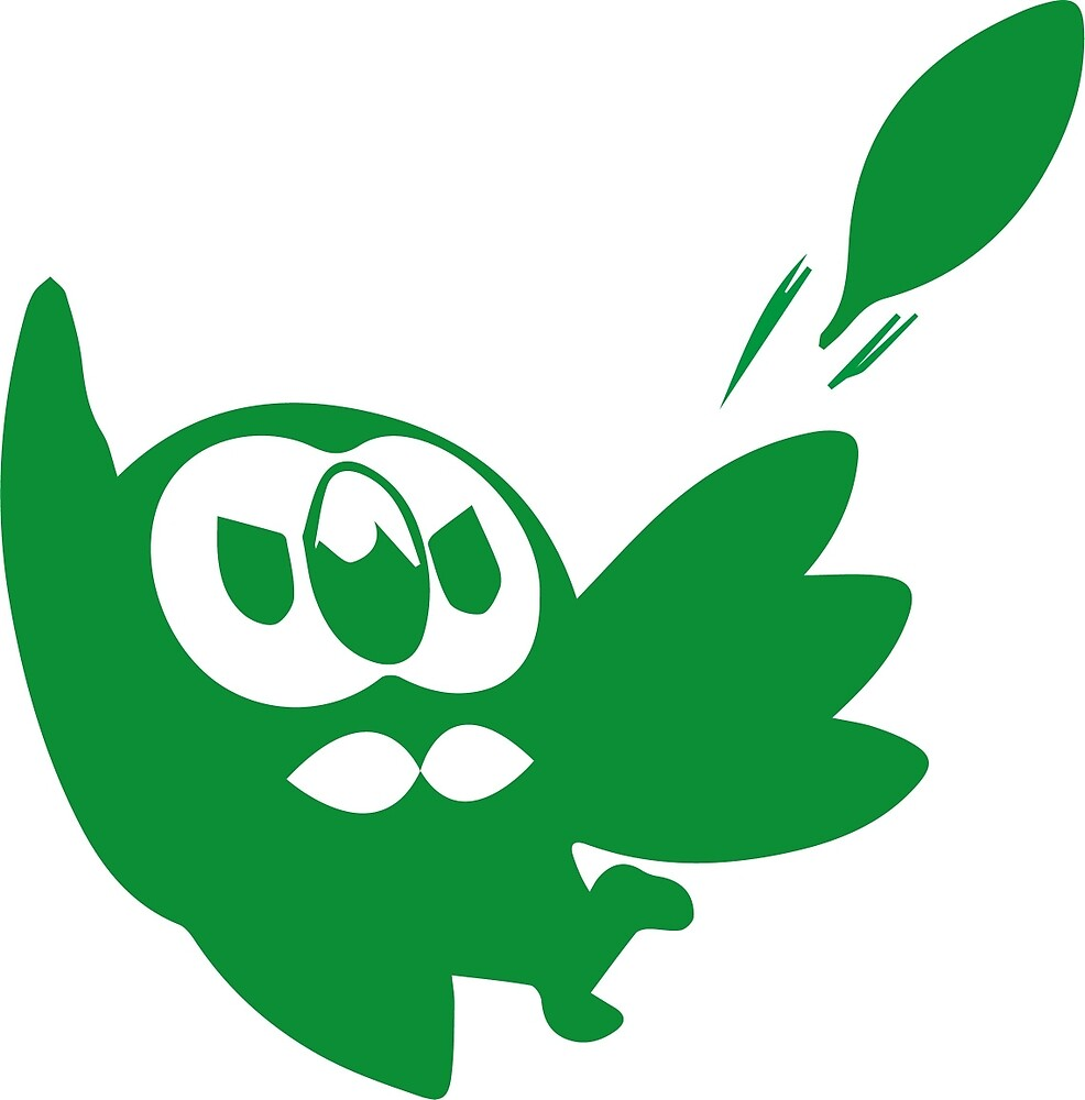 Rowlet Green by dreamlandart