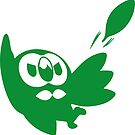 Rowlet Green by dreamlandart