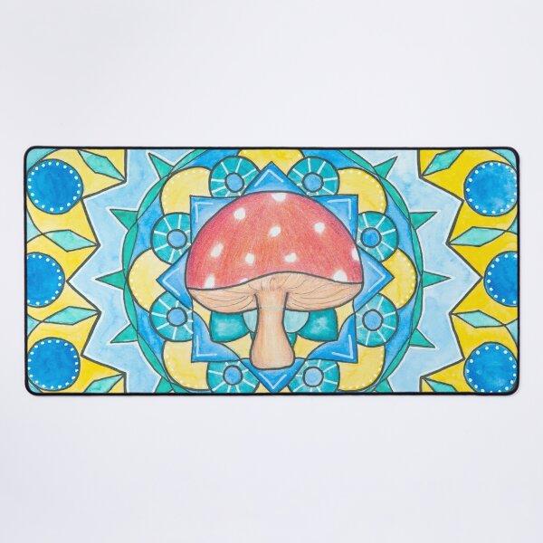 Mushroom Mandala Desk Mat