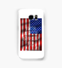 I Will STANDUP For America! 5 Samsung Galaxy Case/Skin
